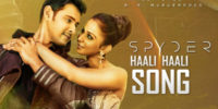 Haali Haali Song Lyrics – Spyder
